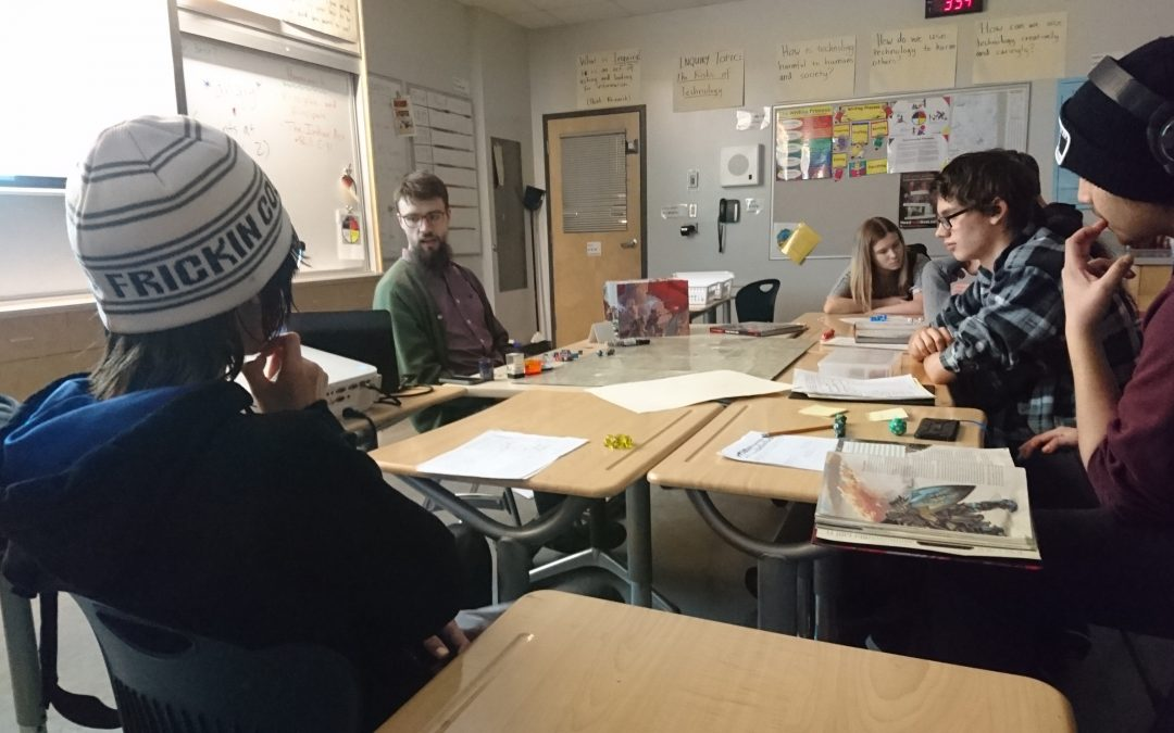 Dungeons & Dragons Club Begins at CCHS