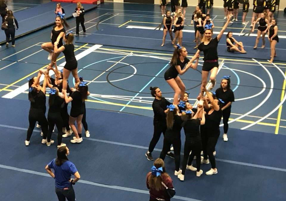 Chargers Attend First Cheer Competition