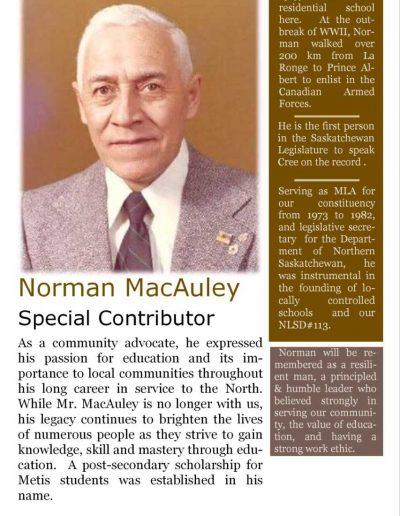 Norman MacAuley