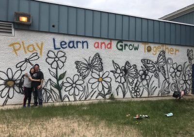 Eco Themed Mural in Pinehouse